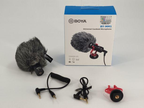 Накамерный микрофон Boya BY-MM1 для беззеркальных компактных камер