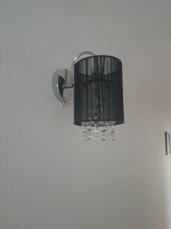 Lampa kinkiet czarny