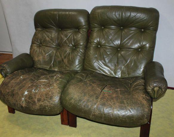 Fotele kanapa Rybo Rykken and Co, Norwegia DESIGN VINTAGE