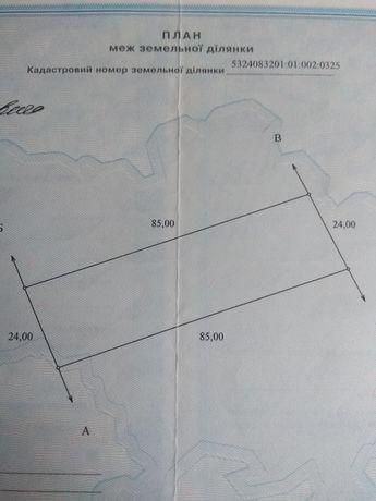 Продам земельный участок в селе Мачухи