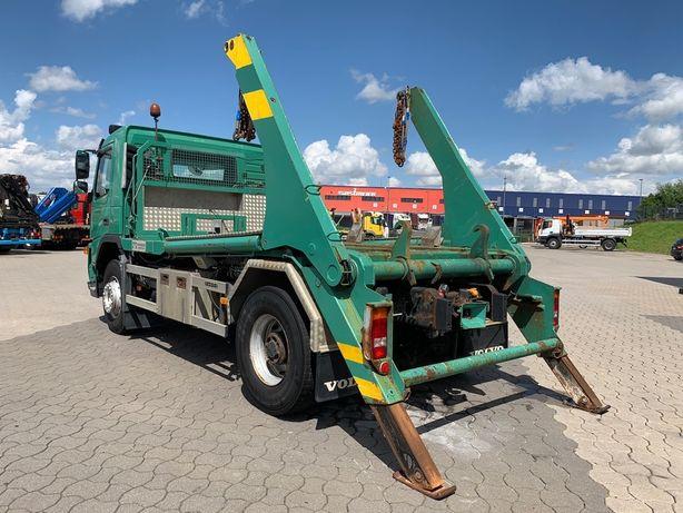 Pojazd specjalny volvo fm9 bramowiec kontener pisskarka pług do śniegu