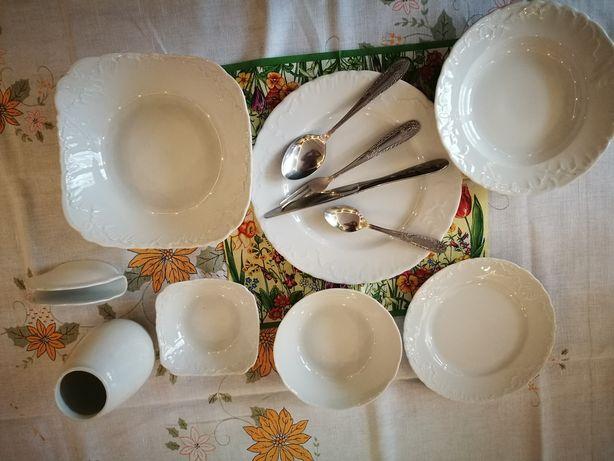 Naczynia stołowe porcelana Ćmielów wyprzedaż