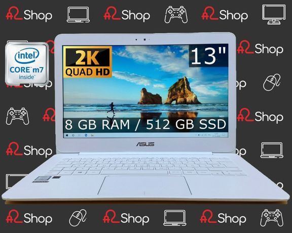 Ноутбук ASUS UX305CA/M7-6Y75/8GB RAM/512GB SSD/Ультрабук/Для бизнеса