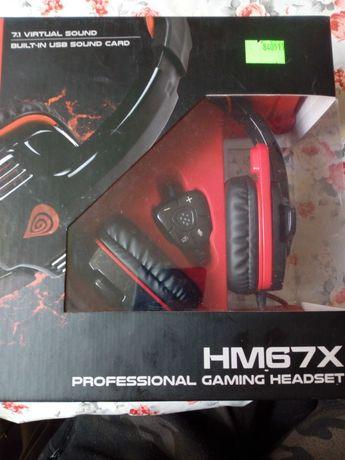 Słuchawki dla graczy GENESIS HM67X
