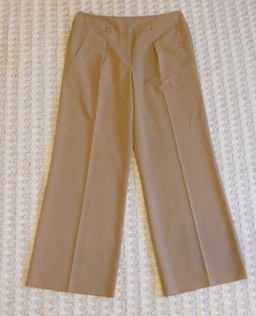 damskie spodnie garniturowe eleganckie na kant szwedy roz.14/42 Awear
