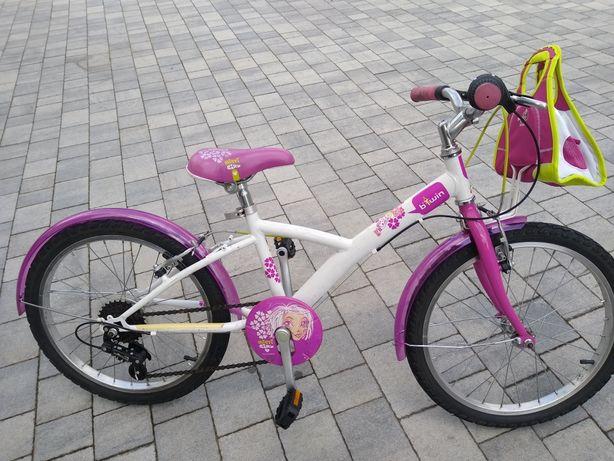 Rower dla dziewczyny 5-8lat, Btwin kola20cali wysylka