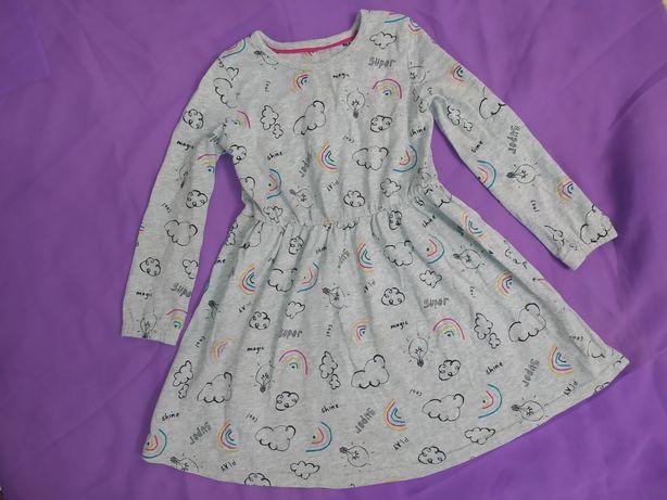 Платьице в садик m&s на 4-5 лет р104-110 платье плаття