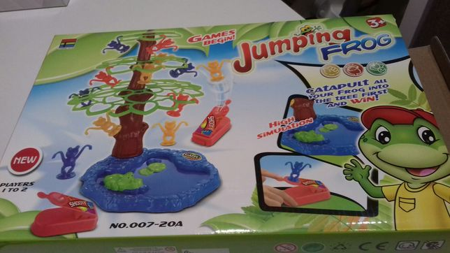 Gra Jumping Frog - skacząc żabki