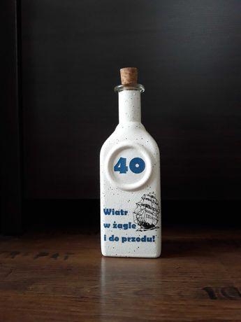 Butelka na 40 urodziny