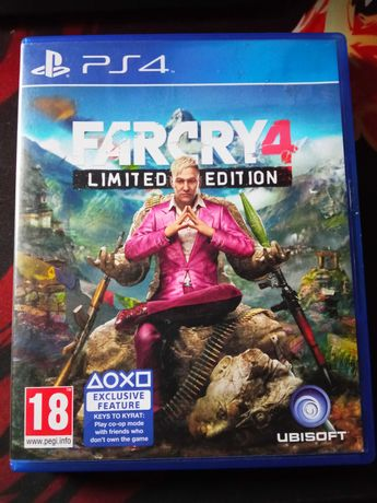 Far Cry 4 Limited Edition (Na ps4)