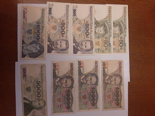 Banknoty Polska prl