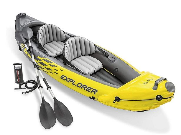 Лодка Байдарка Каяк Intex Explorer K2 Kayak Найнижча ЦІНА