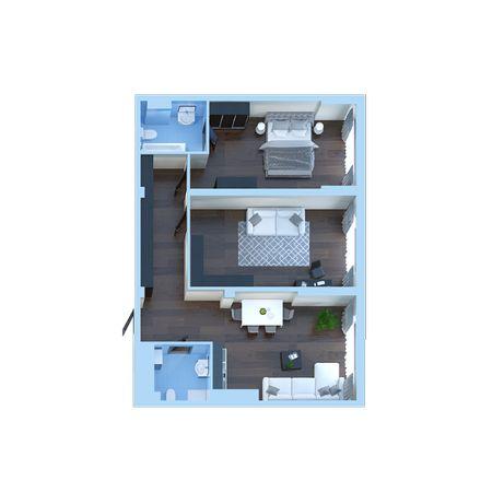 Продам видовую 2 к. кв. 86 метра в ЖК НОВОПЕЧЕРСКАЯ ВЕЖА