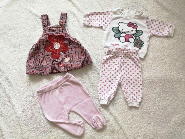 Дитячий одяг на дівчинку