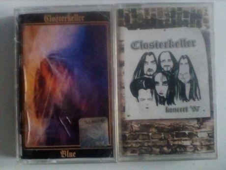 Closterkeller Blue i Koncert 97 dwie kasety audio
