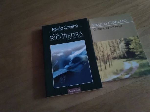 2 livros Paulo Coelho