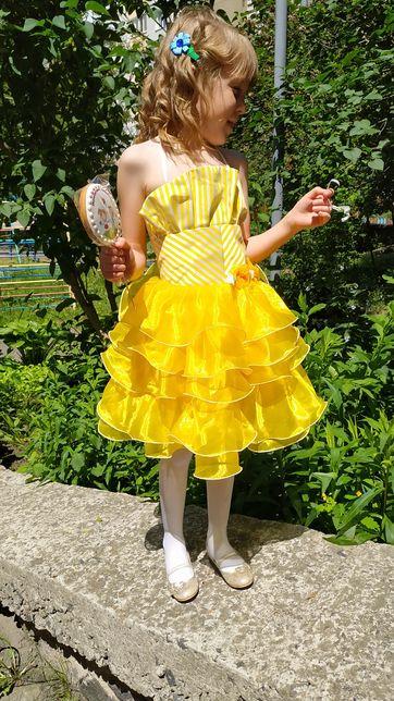 Плаття 128см на випускне платье пышное выпуск нарядное садик выпускное