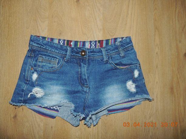 Стильные джинсовые 8-12р шорты шорти джинсові шорти