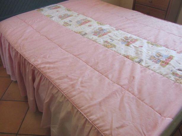 Ederão cama de casal impecável, quarto de criança