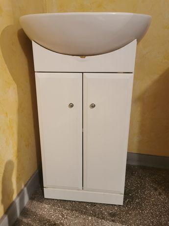 Umywalka łazienkowa z szafką 50x40