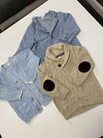 Zestaw elegancki Marynarka sweter H&M