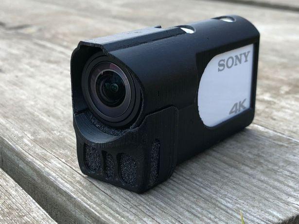 Надежный чехол для Sony fdr x3000 с ветрозащитой | Защити линзу