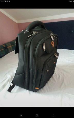 "Plecak D-LEX LX-904N-BK do laptopa / 2 laptopów 15"" 16"" 17"" NOWY!"