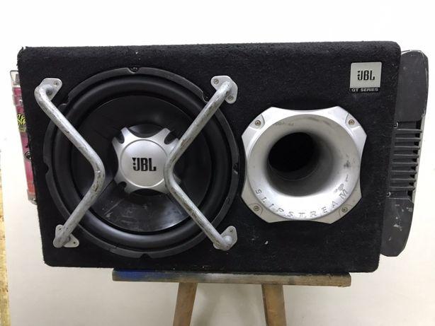 JBl сабвуфер ALPINE усилитель и конденсатор