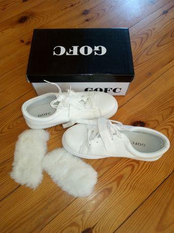 Buty białe sportowe rozm. 37