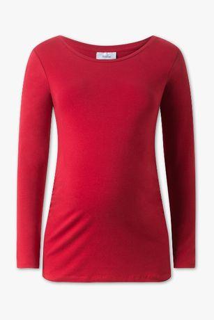 Bluzka ciążowa c&a rozmiar M czerwona