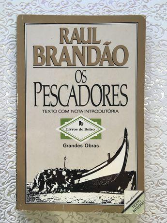 Os pescadores, de Raul Brandão- livro em segunda mão