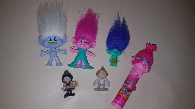 Trolle figurki zestaw
