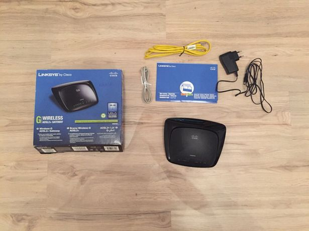 Router Linksys Cisco WAG54G2-EE