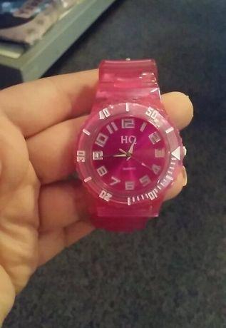 WYPRZEDAŻ!! Nowy różowy zegarek sportowy silikonowy pasek