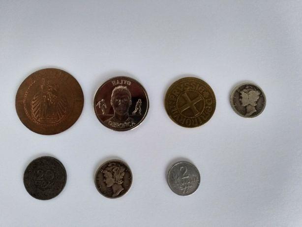 Zbiór monet różne