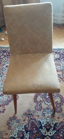 Krzeslo tapicerowane PRL