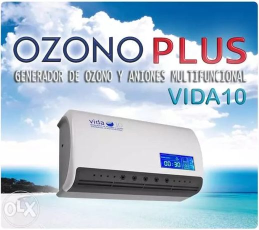 Gerador de ozono plus 3 em 1 agua e ar 600 mg/ h