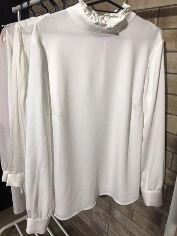 Блузка белая L-XL