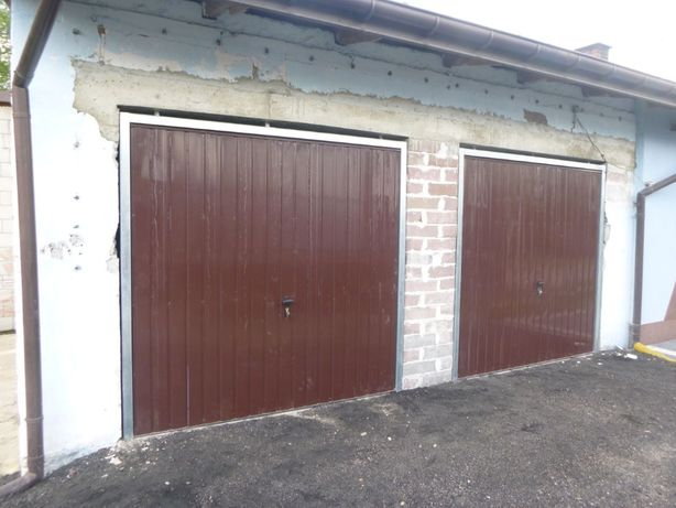 Brama garażowa na wymiar BRAMY uchylne BRAMY dwuskrzydłowe PRODUCENT