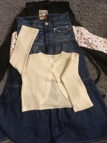 ubrania dziewczęce rozmiar 146 - komplet 22 szt.