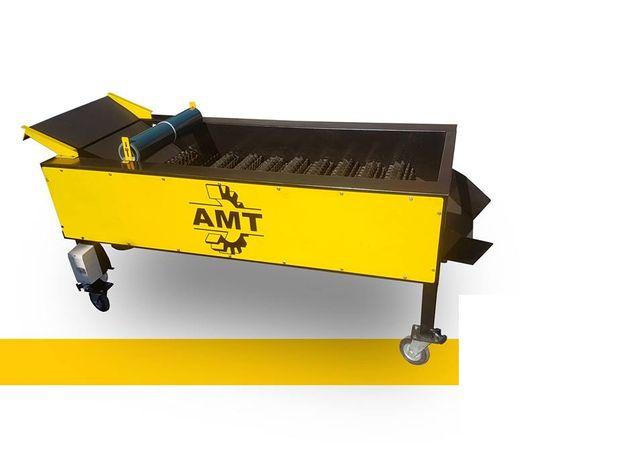 AMT,czyszczarka gumowa, szczotkarka, separator ziemi
