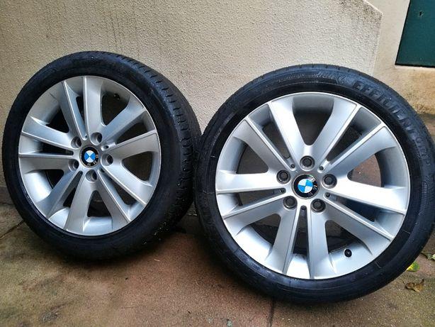 Jantes originais BMW em 17 com pneus