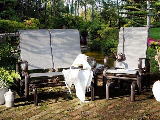Huśtawka ogrodowa ławka fotel 2 osobowa Borgio