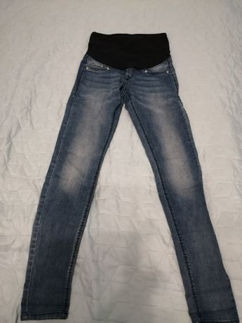 Spodnie ciążowe rurki H&M MAMA
