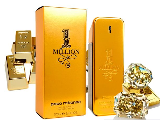 Духи Мужские Paco Rabanne 1 Million 100 ml Пако Рабанн 1 Миллион (ОАЭ