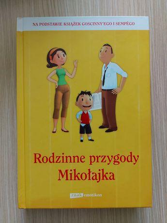 """Książka: """"Rodzinne przygody Mikołaja"""""""