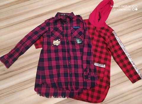 Koszula dla dziewczynki x2