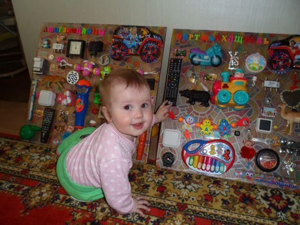 Бизиборды-игрушка для развития Вашего ребёнка.