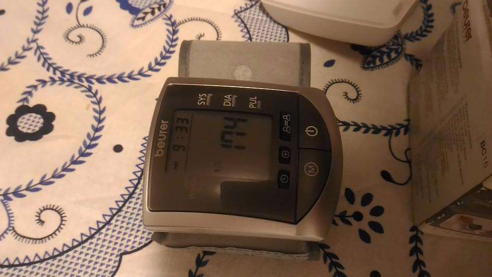 Esfigmomanômetro digital automático / de punho BC 16 da BEURER Porto - imagem 1