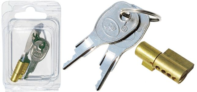 Fechadura /chave anti-roubo para engates de reboque